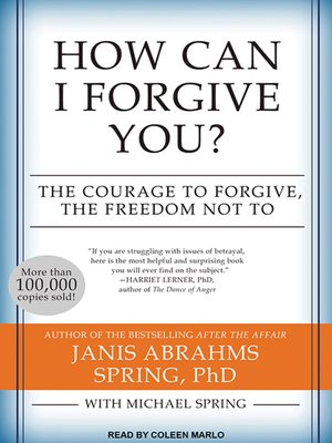 cover image of How Can I Forgive You?
